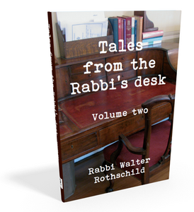 Tales from the Rabbi's Desk Jewish book cover