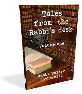 Tales from the Rabbi's Desk Vol. 1 Jewish book cover