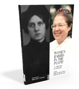 Women Rabis in the Pulpit Jewish book cover
